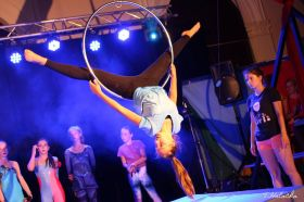 Cirkus LeGrando - začátečníci - Čtvrtek - 1