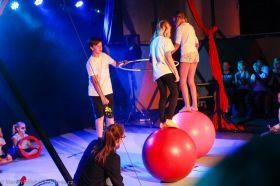 Cirkus LeGrando - úterý - Pohybová průprava - 1