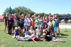 Účastníci táboru :)