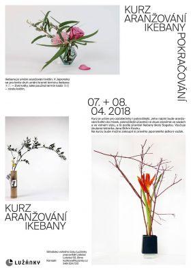 Kurz aranžování ikebany - pokračování