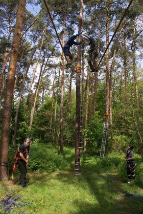 Kurz vysokých lanových aktivit