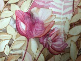 Malba na hedvábí - akvarel