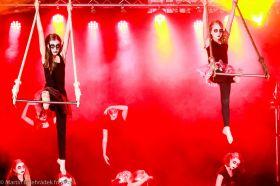 Cirkus LeGrando -  pokročilí - Vzdušná akrobacie - cirkusové dovednosti  - 1