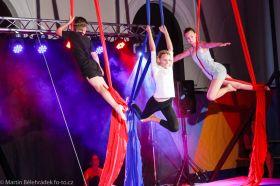 Cirkus LeGrando - pokročilí - Vzdušná akrobacie - Pohybová průprava - 1