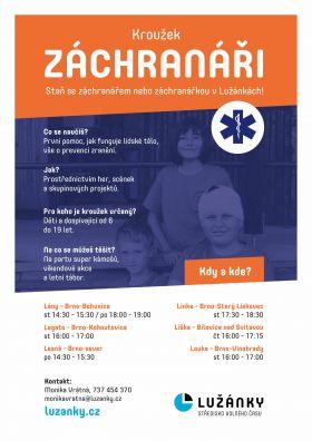 plakát Záchranáři