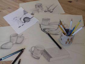 Ateliér kresby a malby - 1