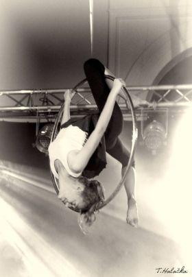 Cirkus LeGrando - začátečníci - Vzdušná akrobacie - 1