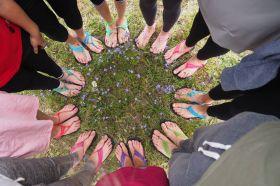 Barefoot sandále - Relaxační den v Lužánkách