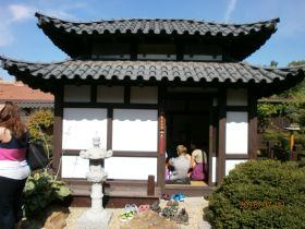 u Hronů - návštěva japonské zahrady