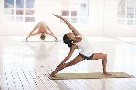 Důkladné jógové prohřátí