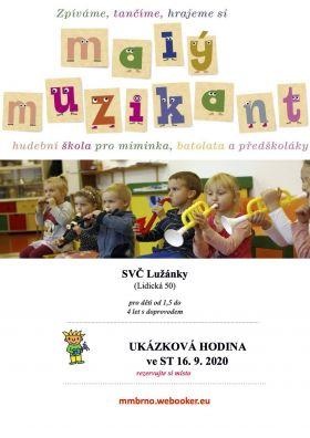 malý muzikant - hudební škola pro miminka, batolata a předškoláky - foto