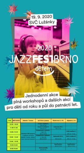 Jazzfestbrnodětem - leták