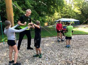 Příprava na lezení