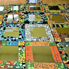 Mozaika - zrcadla
