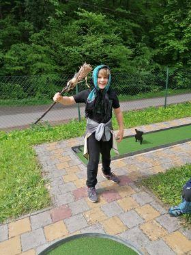 Hrajeme si s Liškou Bystrouškou na minigolfu - 1