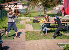 Hrajeme si s Liškou Bystrouškou na minigolfu - 4